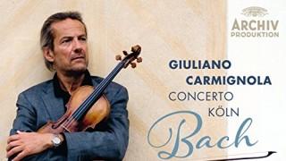 カルミニョーラによるバッハのヴァイオリン協奏曲 #CDレビュー